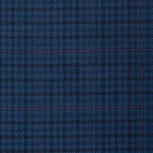17000  – navy with black/pink over check
