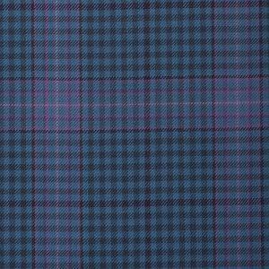 17006  – light medium blue with Lilac check