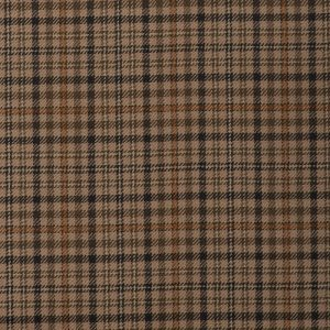 17010 – light/medium brown with orange check