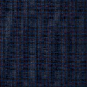 17015 – navy with black /pink over check