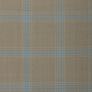 17022 – light sage green with blue over check