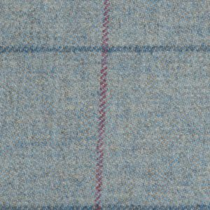 19015 – Blue Grey with Red and navy check