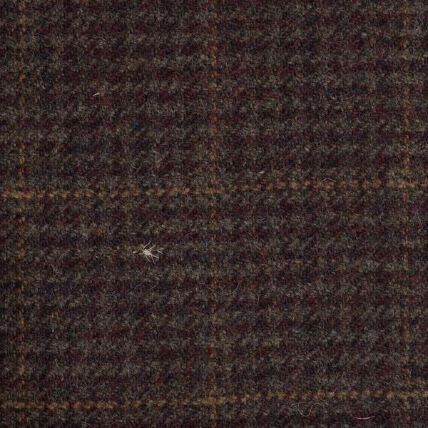19012 – Maroon/Brown With Orange Check