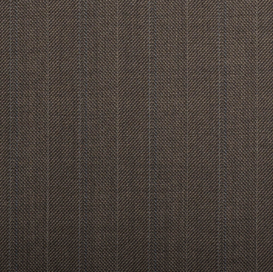 Q15056 – Brown/Fawn Herringbone With Blue Double Stripe